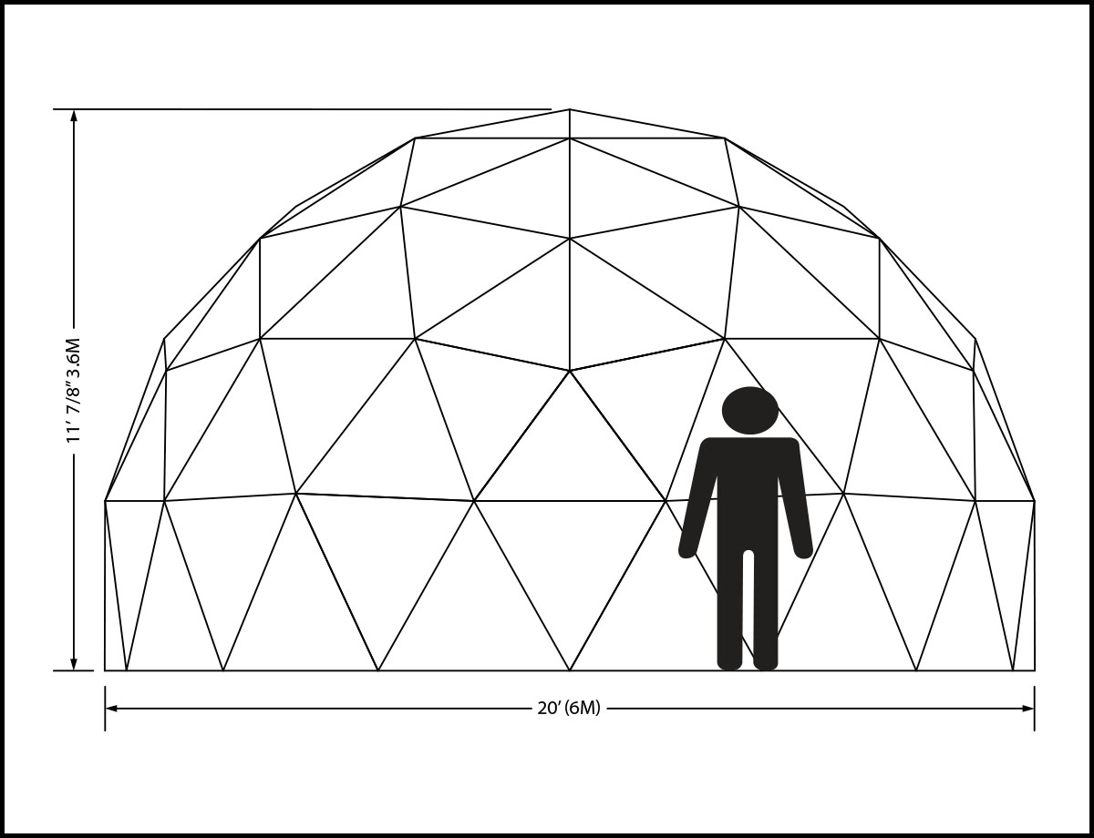 20ft Dome Elevation